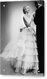 Mrs William H Mcmanus Acrylic Print by Roger Prigent