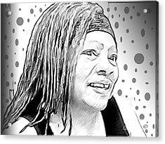 Ms. Jackie 4 Acrylic Print
