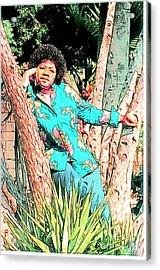 Ms. Jackie II Acrylic Print