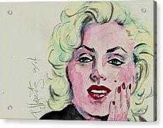 Ms Monroe Acrylic Print by P J Lewis