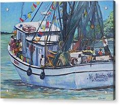 Ms. Shirley Mae Acrylic Print