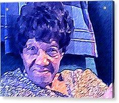 Ms. Virginia II Acrylic Print