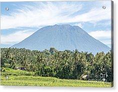 Mt Agung Acrylic Print