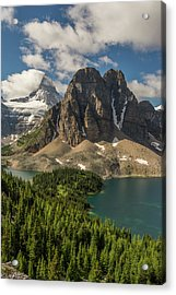 Mt Assiniboine And Sunburst Peak Acrylic Print