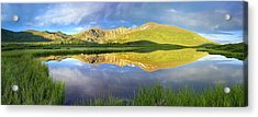 Mt Bierstadt From Guanella Pass Colorado Acrylic Print