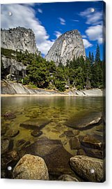 Acrylic Print featuring the photograph Mt. Broderick And Liberty Cap by Mike Lee