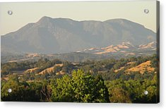 Acrylic Print featuring the photograph Mt. Cali by Shawn Marlow