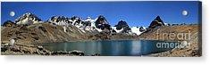 Mt Condoriri Panorama Acrylic Print
