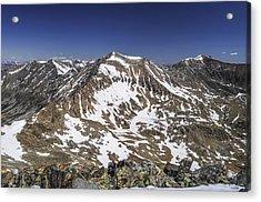 Mt. Democrat Acrylic Print by Aaron Spong