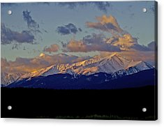 Mt Elbert Sunrise Acrylic Print by Jeremy Rhoades