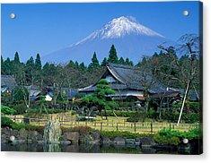 Mt. Fuji Japan Acrylic Print by Robert Jensen