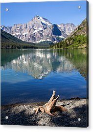 Mt Gould Reflections Acrylic Print by Jack Bell