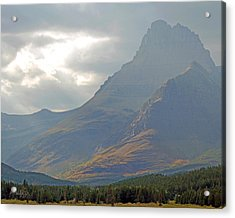 Mt Grinnell - Glacier National Park Acrylic Print by Jim Pavelle