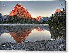 Mt. Grinnell Sunrise Acrylic Print
