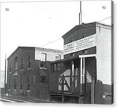 Mt. Holyoke, Massachusetts - Scenes. One Of The Oldest Acrylic Print