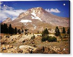 Mt. Hood Acrylic Print by Marty Koch