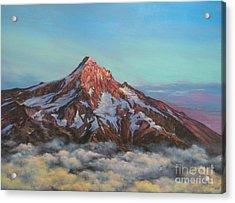 Mt Hood North Face Acrylic Print