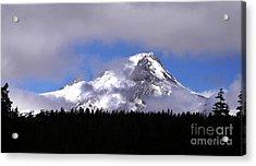 Mt. Hood- Oregon Acrylic Print by Howard Koby