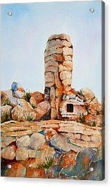 Mt Lemmon Tucson Az Acrylic Print