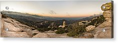 Mt. Lemmon Windy Point Panorama Acrylic Print
