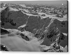 Mt Marcus Baker Acrylic Print