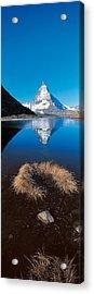 Mt Matterhorn & Riffel Lake Switzerland Acrylic Print