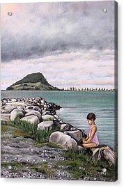 Mt Maunganui 140408 Acrylic Print