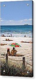 Mt Maunganui Beach 090209 Acrylic Print
