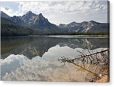 Mt. Mcgowan Reflected In Stanley Lake Acrylic Print