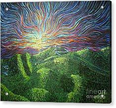 Mt. Mitchell  Acrylic Print