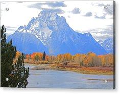 Mt. Moran Majesty Acrylic Print