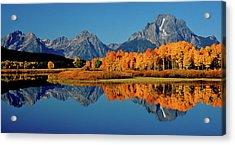 Mt. Moran Reflection Acrylic Print