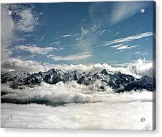 Acrylic Print featuring the photograph Mt Olympus by Greg Reed