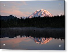 Mt. Rainier From Surprise Lake Acrylic Print
