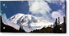 Mt Rainier II Acrylic Print