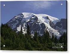 Mt Rainier Landscape Acrylic Print