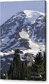 Mt Rainier Portrait Acrylic Print