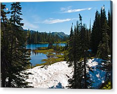 Acrylic Print featuring the photograph Mt. Rainier Wilderness by Tikvah's Hope