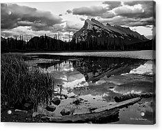 Mt. Rundle Reflection Acrylic Print