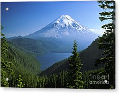 Mt. Saint Helens Acrylic Print by Thomas & Pat Leeson