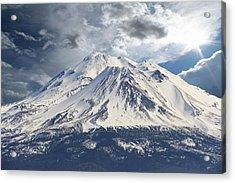 Acrylic Print featuring the photograph Mt Shasta by Athala Carole Bruckner