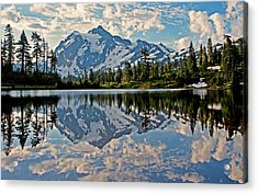 Mt. Shuksan Reflection Acrylic Print