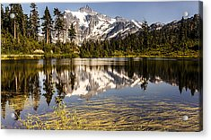 Mt Shuksan Reflection Acrylic Print