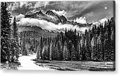 Mt Sneffels Acrylic Print