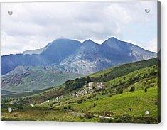 Mt Snowdon From Dyffryn Mymbyr Acrylic Print by Jane McIlroy