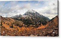 Mt. Stuart Acrylic Print