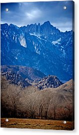 Mt. Whitney And Alabama Hills Acrylic Print by Eric Tressler