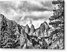 Mt. Whitney Acrylic Print by Peggy Hughes
