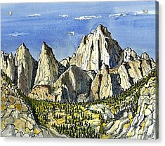 Mt. Whitney Acrylic Print