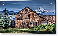 Acrylic Print featuring the photograph Mt. Adams by Thom Zehrfeld